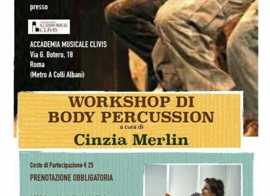 Workshop di Body Percussion