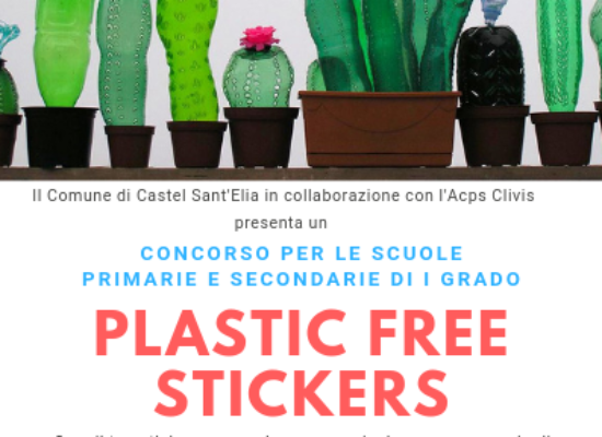 Plastic Free Stickers